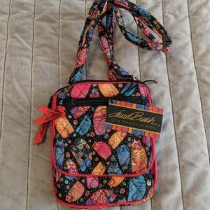 Laurel Burch NWT feline family crossbody purse